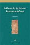 1187-eski uygurca din dışı metinler Custom